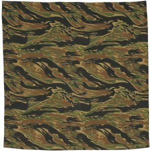 MFH Bandana Cotton Tiger Stripe