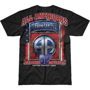 7.62 Design Army 82nd Airborne All Americans Battlespace T-Shirt Black