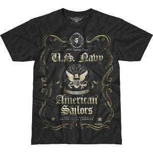 7.62 Design USN Fighting Spirit Battlespace T-Shirt Black