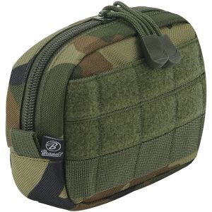 Brandit Compact MOLLE Pouch Woodland