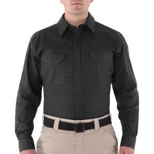 First Tactical Men's V2 Long Sleeve Tactical Shirt Black