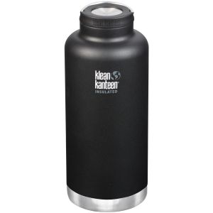 Klean Kanteen TKWide 1900ml Insulated Bottle Loop Cap Shale Black