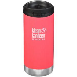 Klean Kanteen TKWide 355ml Insulated Bottle Cafe Cap 2.0 Melon Punch