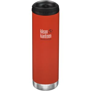 Klean Kanteen TKWide 591ml Insulated Bottle Cafe Cap 2.0 Post Box Red