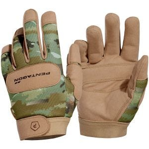 Pentagon Duty Mechanic Gloves PentaCamo