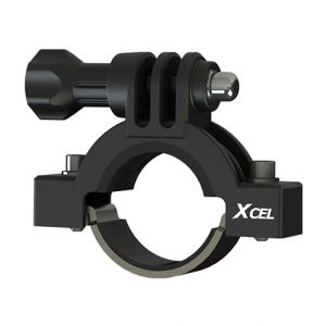 "Xcel 0.91"" to 1.38"" Diameter Action Camera Mount Black"