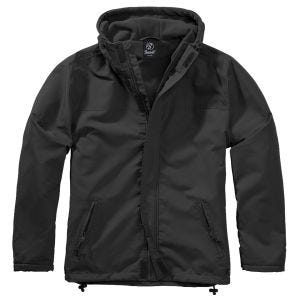 Brandit Windbreaker Front Zip Black