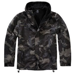 Brandit Windbreaker Front Zip Dark Camo