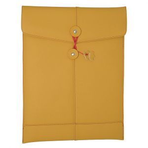 "Civilian Manila 11 Leather Sleeve for MacBook Air 11"" / Netbook Mango"