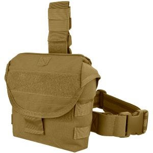 Condor Drop Leg Dump Pouch Coyote Brown
