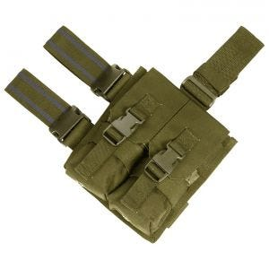 Flyye Drop Leg Double M4/M16 Magazine Pouch Coyote Brown