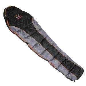 Fox Outdoor Advance Mummy Sleeping Bag Black / Grey