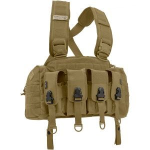 Hazard 4 Frontline Assault Rifle Loadout Chest Rig Coyote