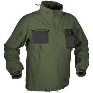 Helikon Cougar Soft Shell Windblocker Jacket Olive Green