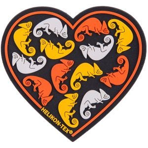 Helikon Heart Patch Black