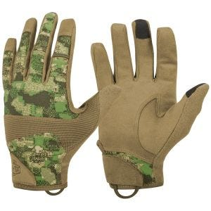 Helikon Range Tactical Hard Gloves PenCott WildWood/Coyote