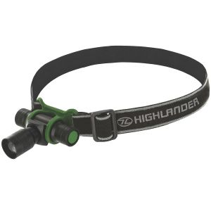 Highlander Focus 3W LED Head Torch Black / Olive