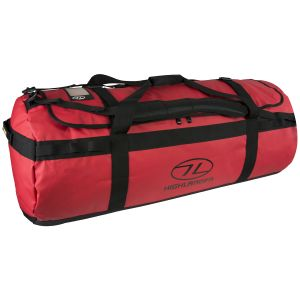 Highlander Lomond Tarpaulin 120L Duffle Bag Red