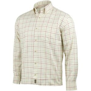 Jack Pyke Countryman Check Shirt Burgundy