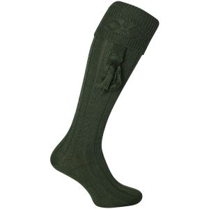 Jack Pyke Plain Shooting Socks Green