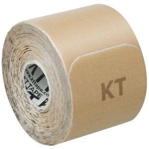 """KT Tape Consumer Cotton Gentle Precut 10"""" Beige"""