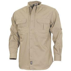 MFH Strike Tactical Shirt Long Sleeve Khaki