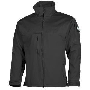 MFH Australia Soft Shell Jacket Black