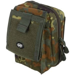 MFH Map Case MOLLE Flecktarn