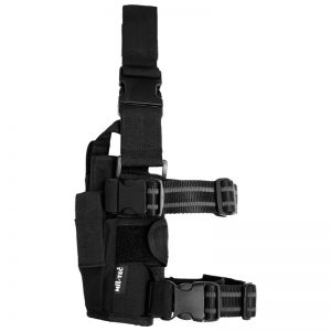 Mil-Tec Adjustable Leg Holster Cordura Black