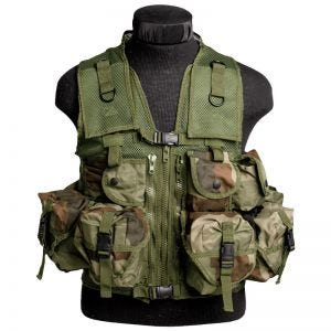 Mil-Tec Ultimate Assault Vest CCE