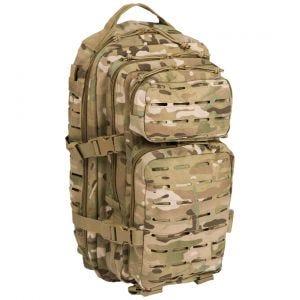 Mil-Tec US Assault Pack Small Laser Cut Multitarn
