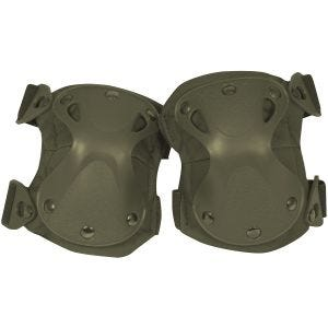 Viper Knee Pads Hard Shell Green