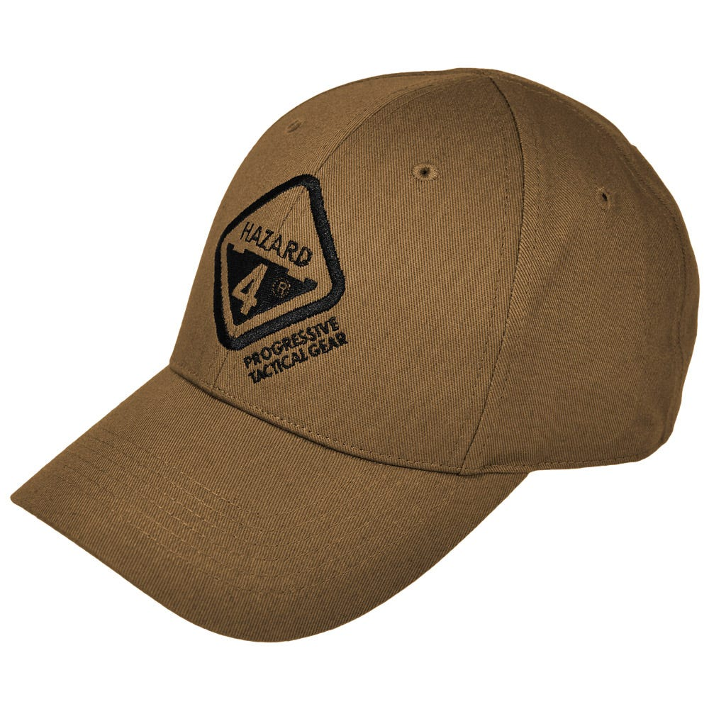Hazard 4 H4 Tactical Logo Ball Cap Coyote 5dfd31c07b4