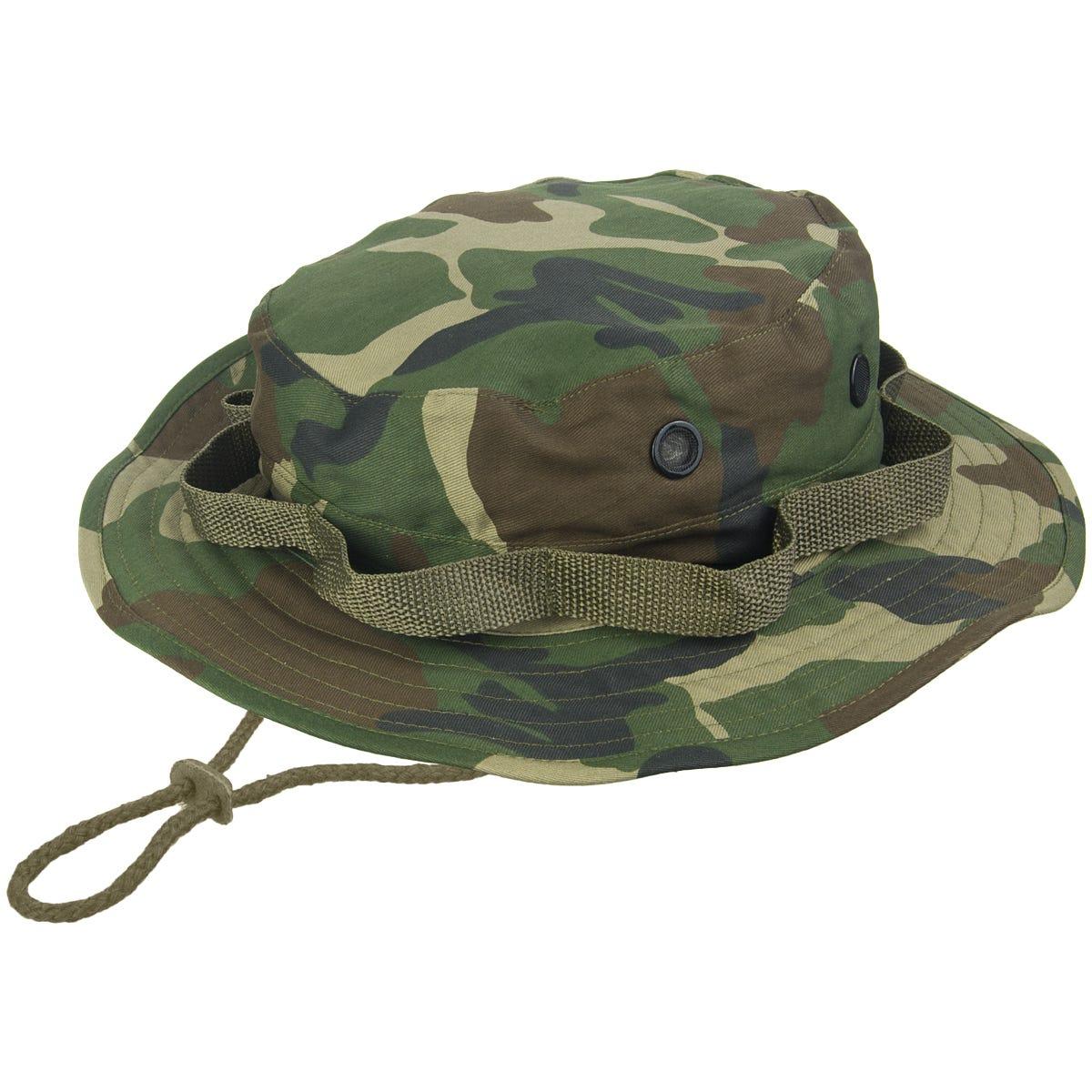 ec678459631 Mil-Tec GI Boonie Hat Woodland